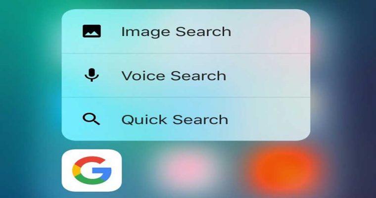 اپلیکیشن هایی با قابلیت پشتیبانی از ویژگی app shortcuts