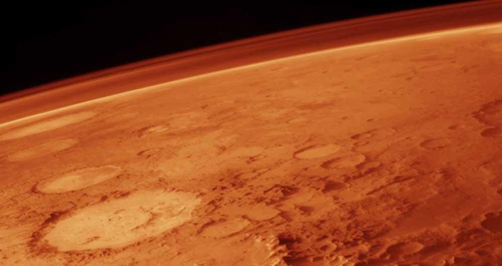 آب مریخ تمام شد
