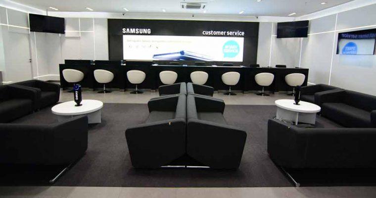 مرکز خدمات تلفن همراه سامسونگ