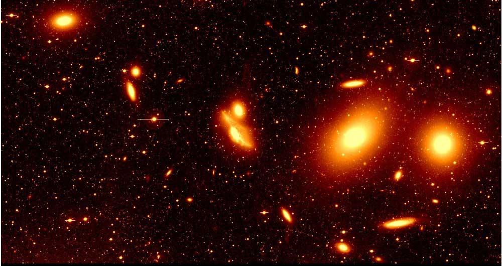 کهکشان کوتوله مهر تاییدی بر نظریات ماده تاریک