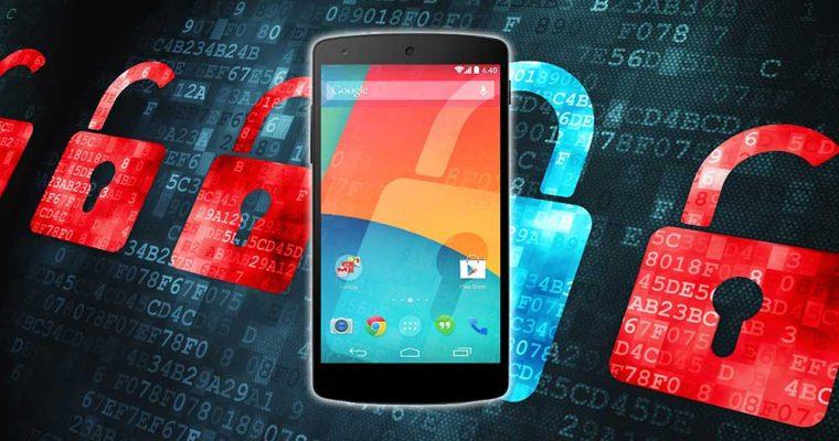 آسیب پذیری گوشی های اندرویدی