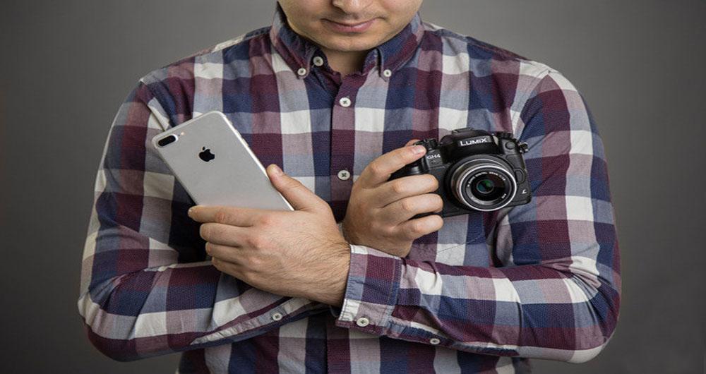 مقایسه حالت پرتره دوربین آیفون 7 پلاس با دوربین 1600 دلاری