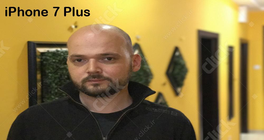 مقایسه حالت بوکه آیفون 7 پلاس با اپلیکیشن FabFocus