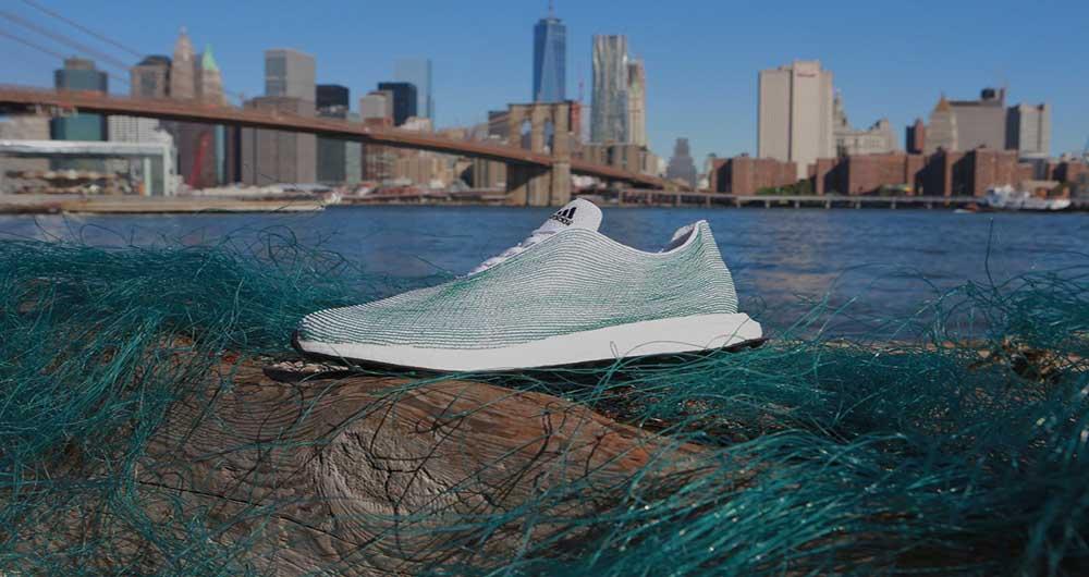 آدیداس از زباله های اقیانوس کفش تولید کرد
