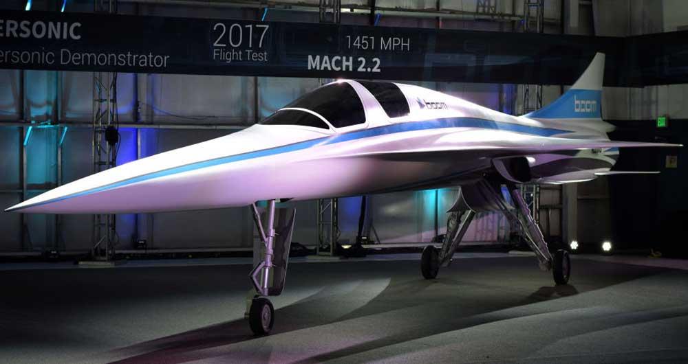 اولین هواپیمای مافوق صوت ساخت بخش خصوصی
