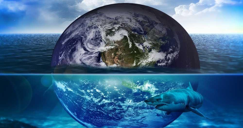 کشف آب در عمق ۱۰۰۰ کیلومتری زمین