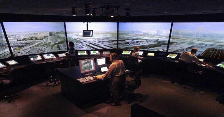 سیستم کنترل تاخیر پرواز