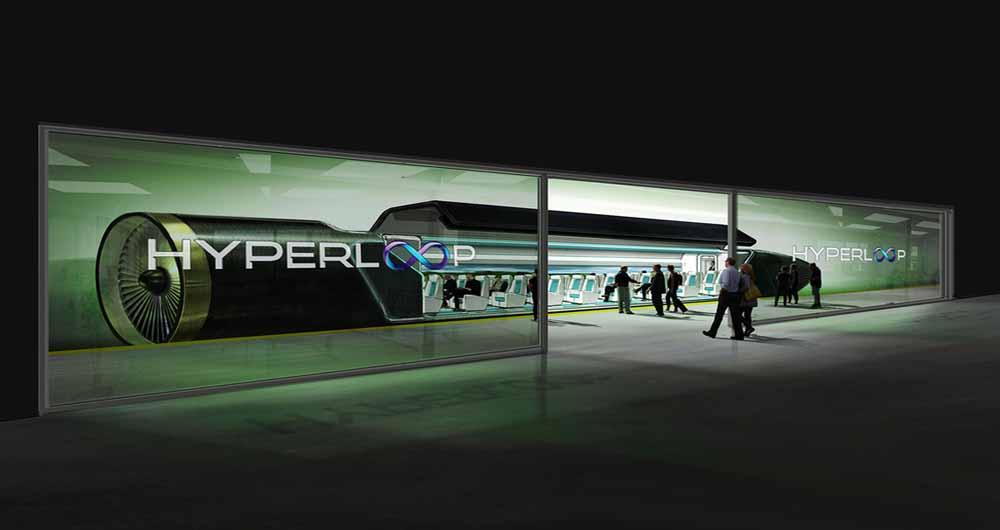 هایپرلوپ با سرعت ۱۲۰۰ کیلومتر در ساعت در جنوب خلیج فارس