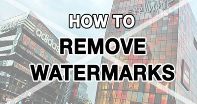 how we can remove watermark or logo with photoshop