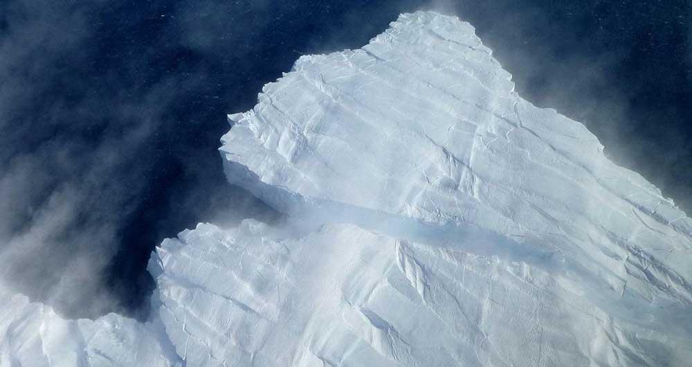 جدا شدن یخ قطبی
