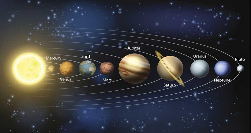 منظومه شمسی چطور متولد شد؟