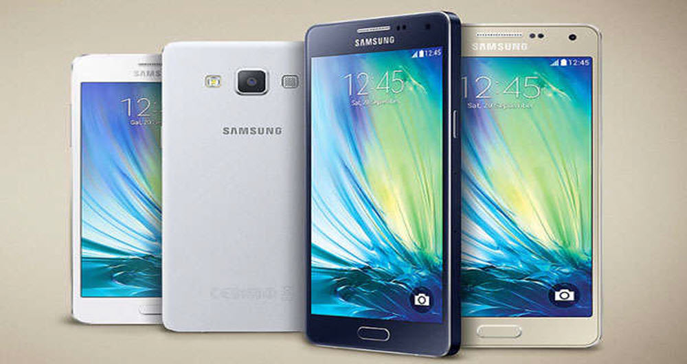 New renders of the Galaxy A5 in four-color