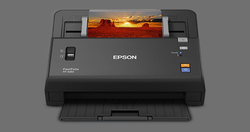 اسکنر اپسون FastFoto FF-640؛ اسکنری منحصر به فرد