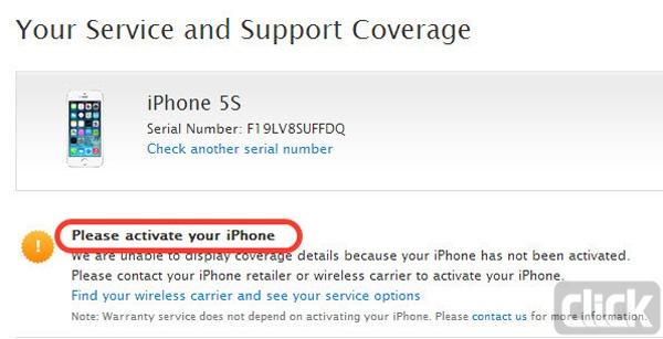 سایت اپل برای مقایسه ی کپی یا اصل بودن آیفون