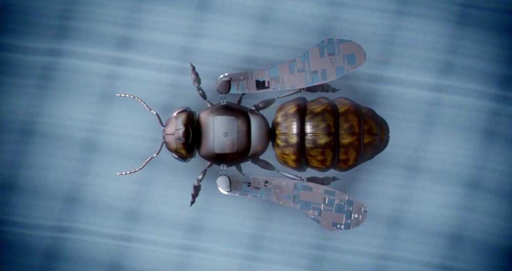 ربات زنبور عسل