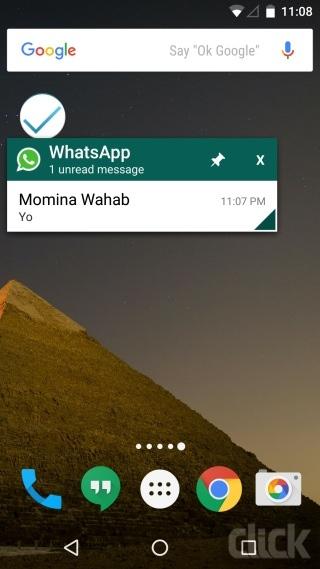 راهکار دیدن پیام های جدید در WhatsApp به صورت مخفی