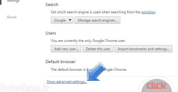 Education disable cookies in your web browser