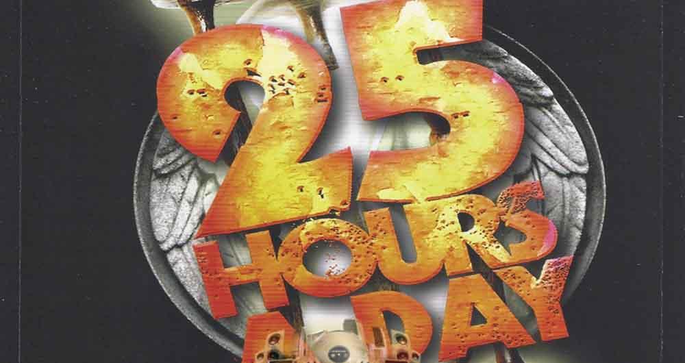 25 ساعته شدن روزها