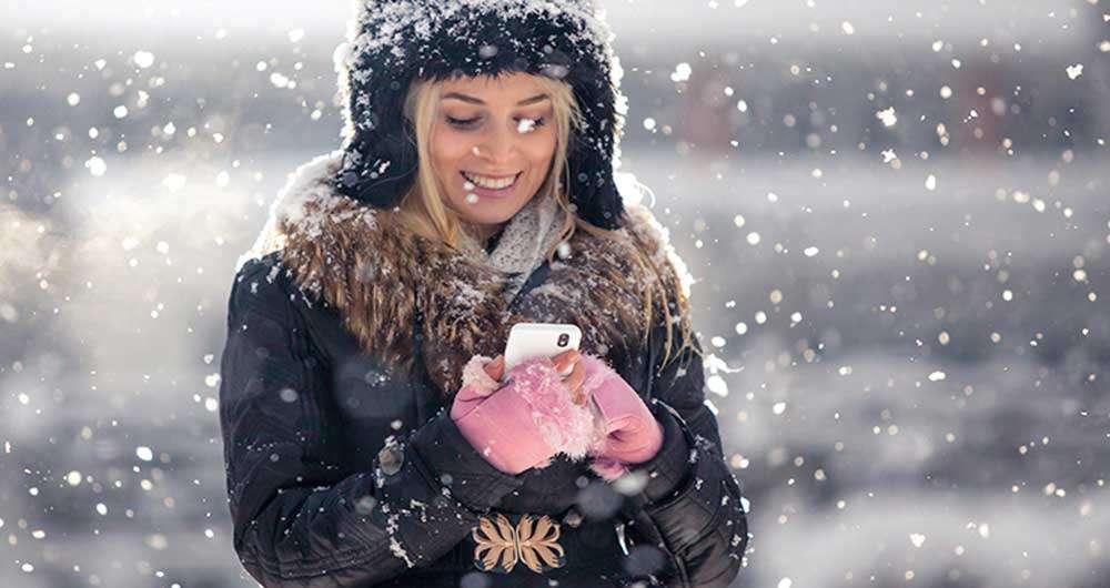 اثرات سرما بر روی گوشی