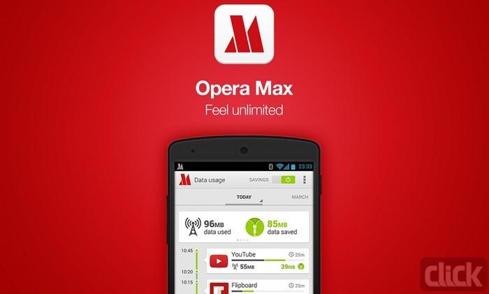 نصب Opera Max
