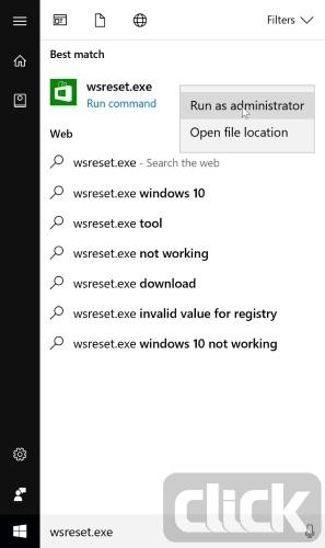 حل مشکل باز نشدن فروشگاه Windows Store در ویندوز ۱۰   رسانه کلیک