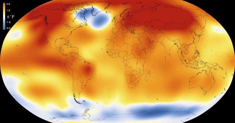 گرم شدن کره زمین