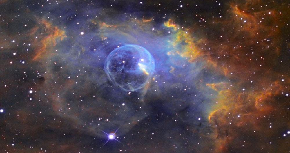 رصد یک حباب بزرگ در فضا