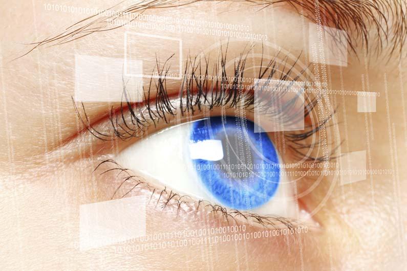 لنزهای چشمی مجهز به دوربین می شوند