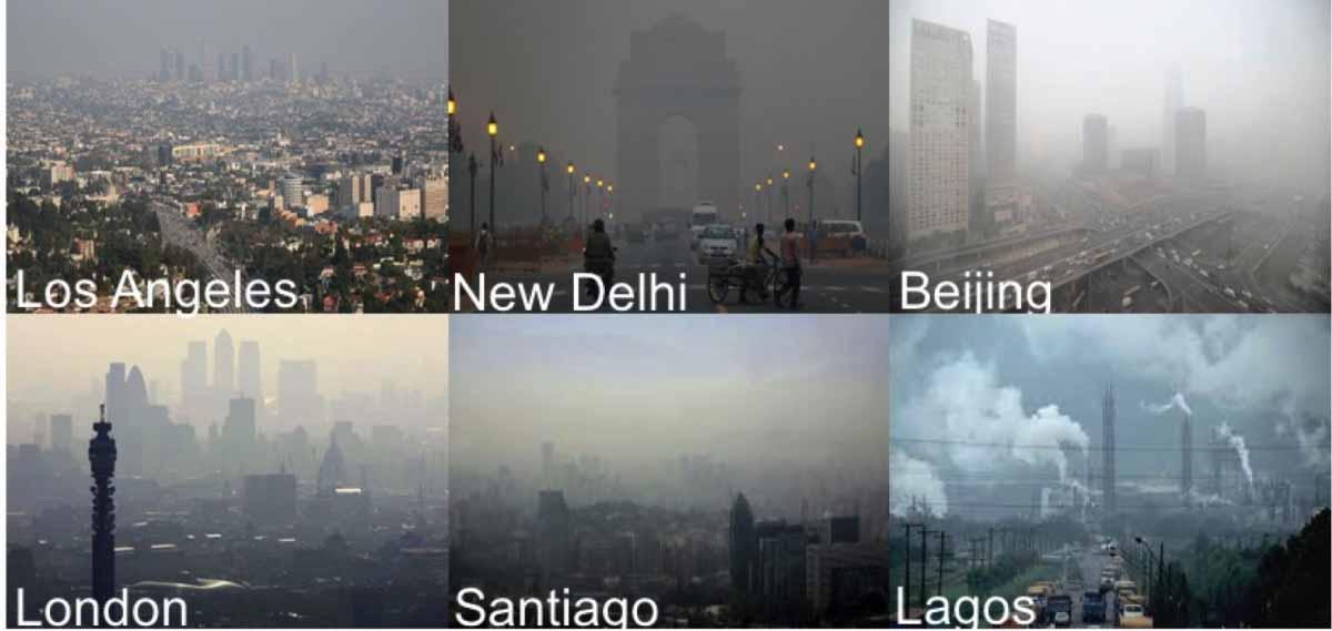 آلودگی شهرهای جهان