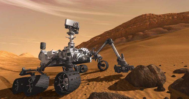 کشف عنصر بورون در مریخ