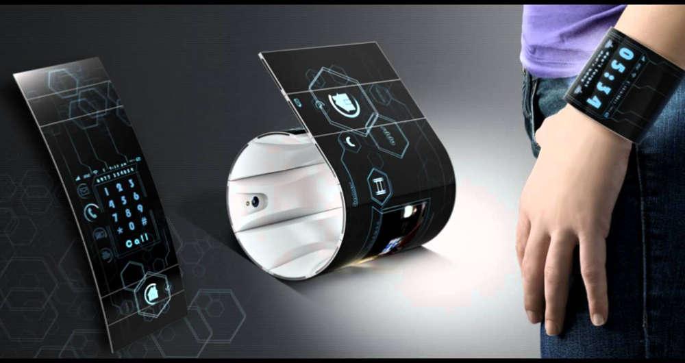 گوشیهای هوشمند قابلانعطاف چه آیندهای خواهند داشت؟