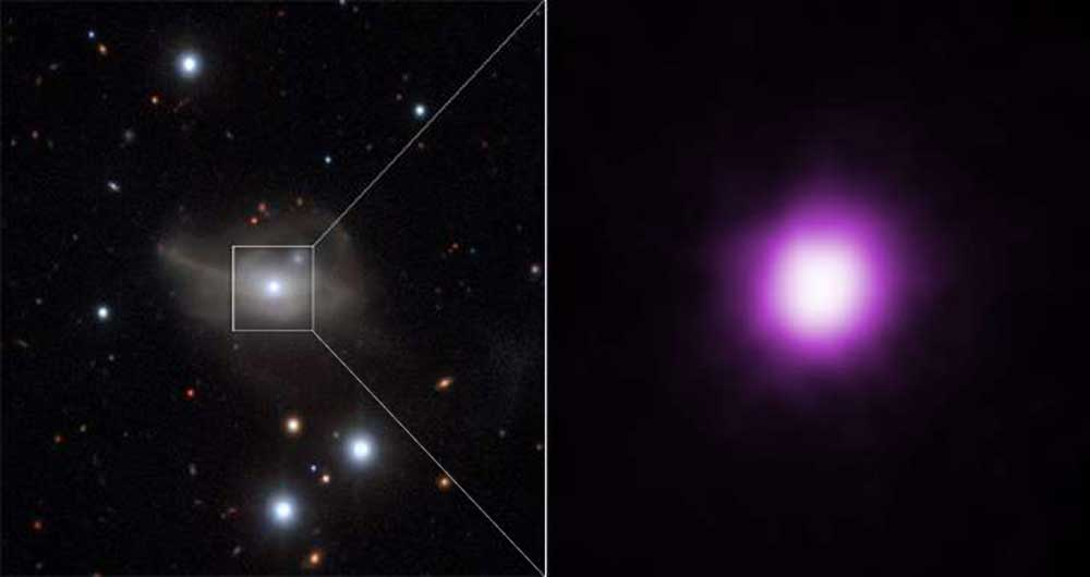 کهکشان کم نور، گرسنه است