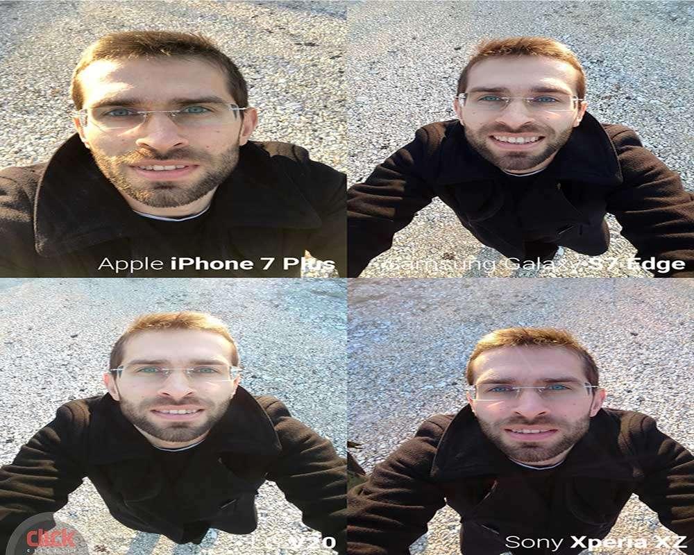 مقایسه دوربین سلفی گوشی های پرچمدار