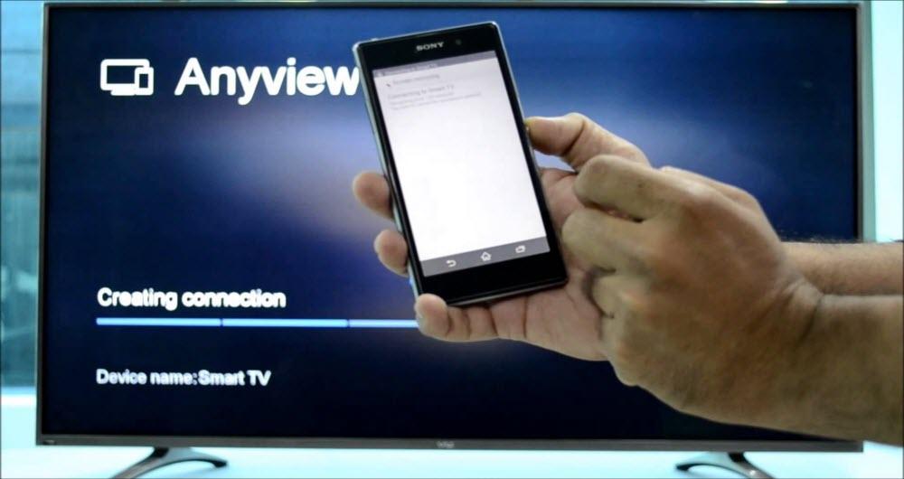 روشی ساده برای نمایش صفحه گوشی در تلویزیون