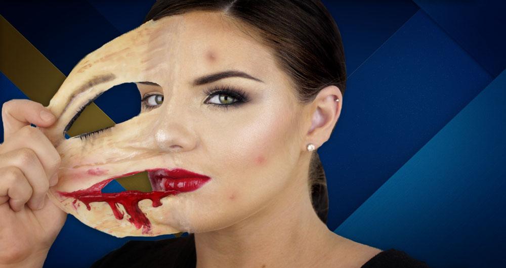 آموزش از بین بردن جوش و لک های صورت با فتوشاپ