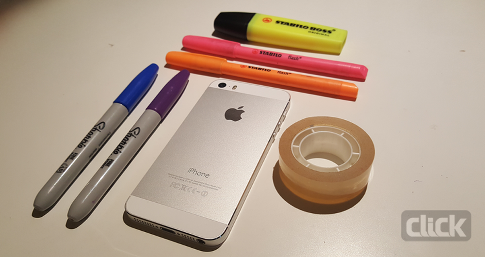 چگونه گوشی هوشمند خود را به یک بلک لایت تبدیل کنید؟