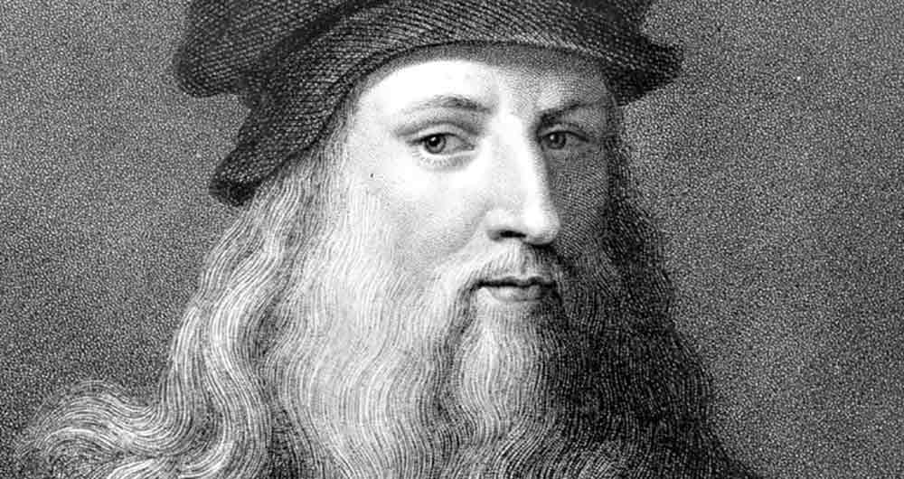 کشف اصطکاک توسط لئوناردو داوینچی