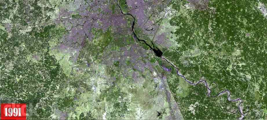 تصاویر ناسا از تغییرات زمین
