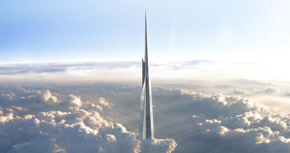 ساخت برج 5 کیلومتری