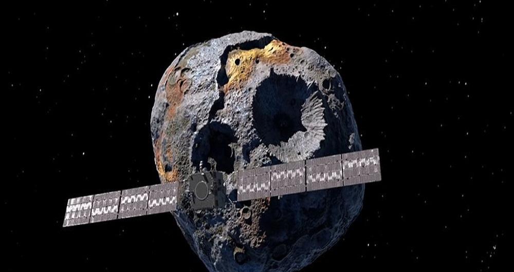 ناسا قصد دارد کاوشگری را به جهان فلزی عجیبی در فضا بفرستد