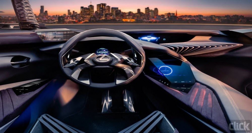 خودروی مفهومی تویوتا با رابط کاربری جدید