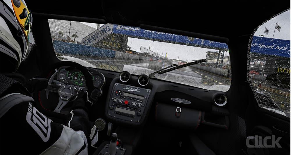 رانندگی در آب و هوای بارانی Forza Motorsport 6