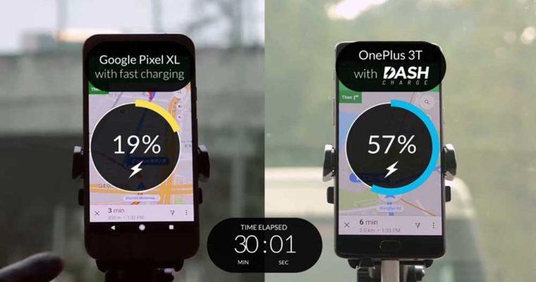مقایسه فناوری شارژ به کار گرفته شده در One Plus 3T و گوگل پیکسل XL
