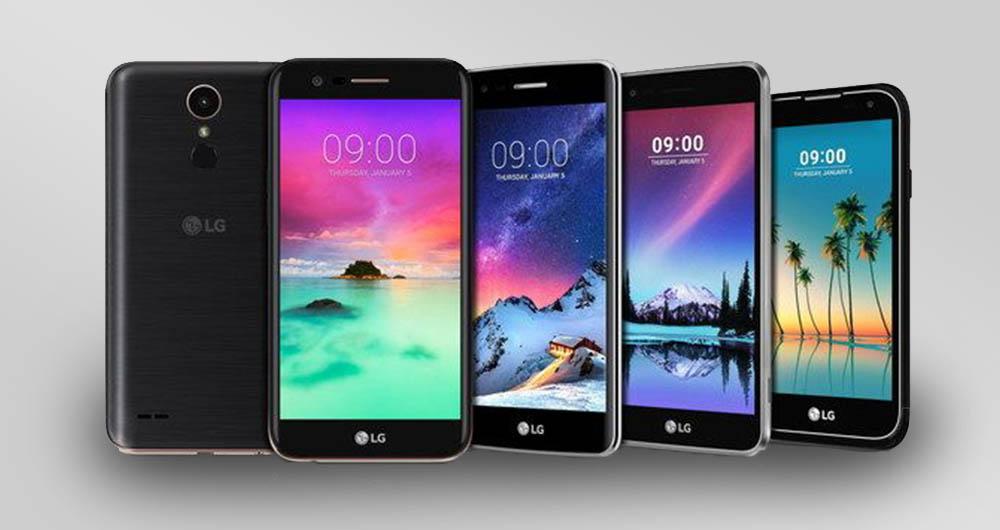 گوشی های میان رده جدید LG با دوربین و باتری قوی تر رونمایی شدند