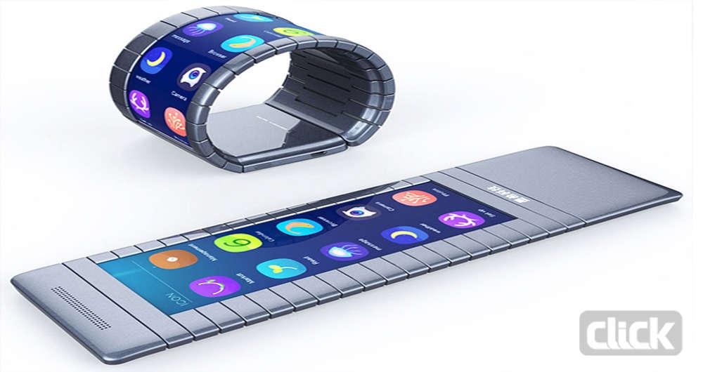 گوشی های هوشمند منعطف کار خود را آغاز می کنند