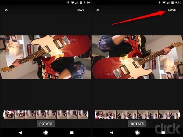 راهکار تغییر جهت نمایش ویدئو در اندروید6