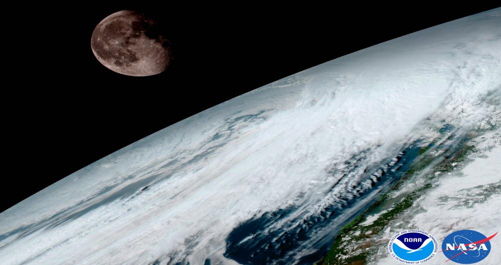 زمین واقعا زیباست:نخستین تصاویر از ماهواره هواشناسی نسل آینده «نوآ» از زمین آبی رنگ
