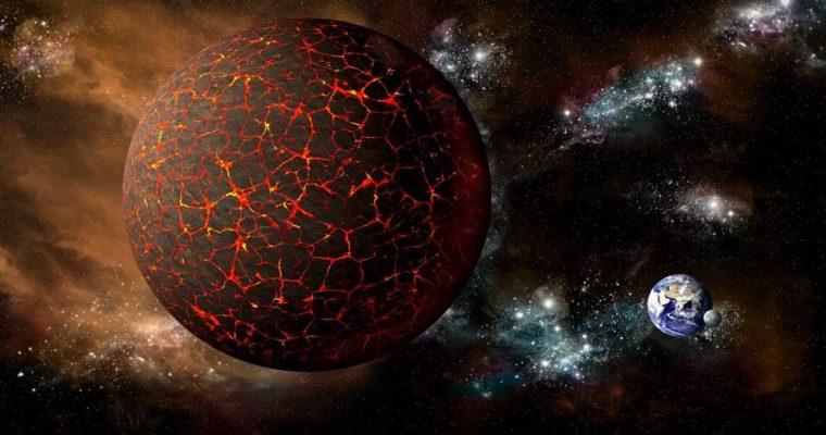 نابودی زمین در سال ۲۰۱۷ با برخورد یک ستاره سیاه به قطب جنوب!