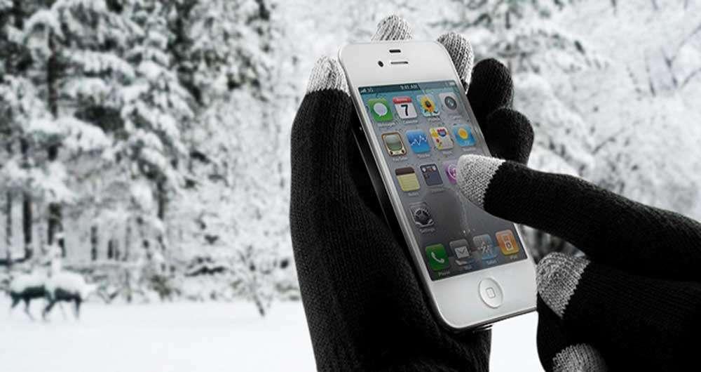 آموزش تصویری تهیه دستکش مخصوص کار با گوشی لمسی