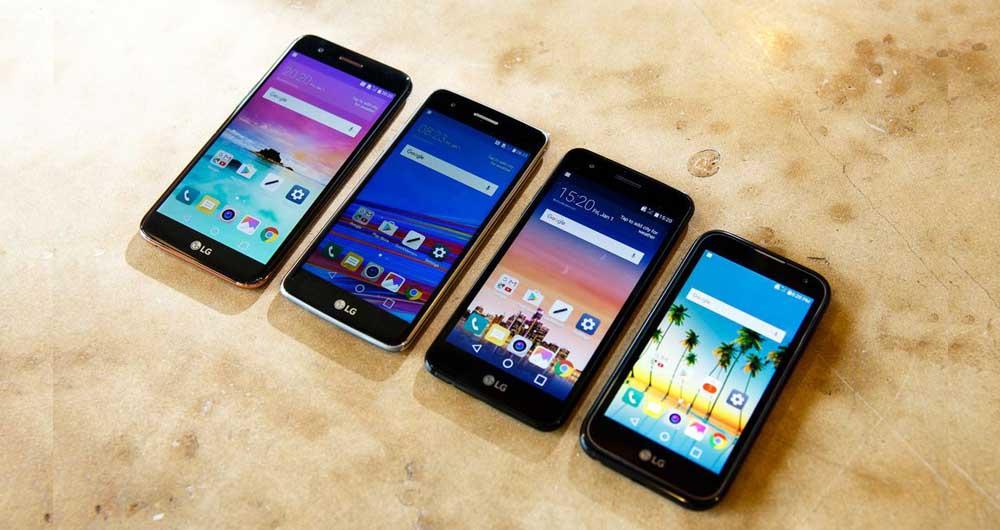 تصاویر و مشخصات گوشی های جدید سری K شرکت LG